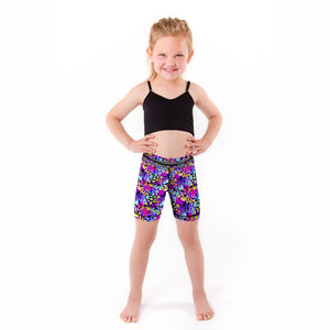 Prismatic Purr Girls Shortie (Sweatgear.Kids)