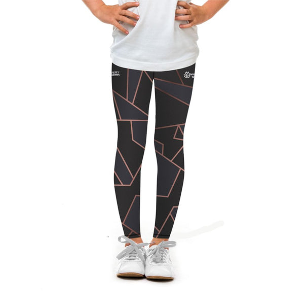 Rose Gold Mosaic Tight (Sweatgear.Kids)