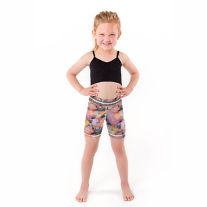 Rainbow Illusion Girls Shortie (Sweatgear.Kids)