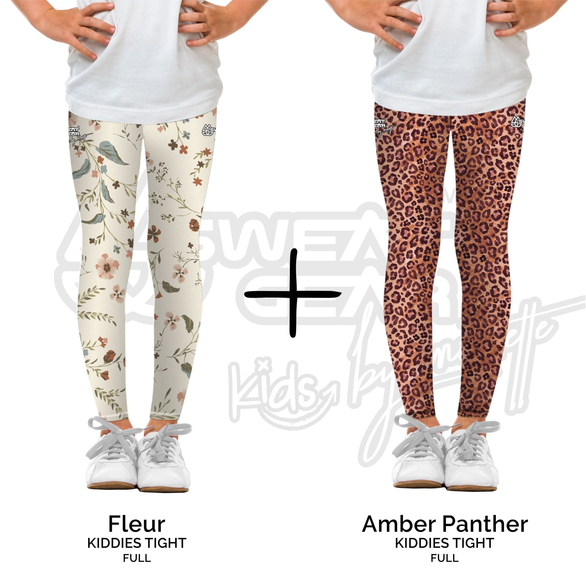 Bundle of 2: Fleur + Amber Panther (Sweatgear.Kids Designed by Minnette)