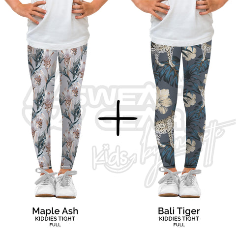 Bundle of 2: Maple Ash + Bali Tiger (Sweatgear.Kids Designed by Minnette)