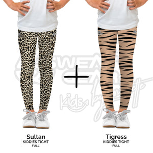 Bundle of 2: Sultan + Tigress (Sweatgear.Kids Designed by Minnette)