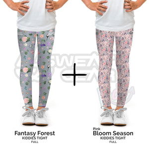 Bundle of 2: Fantasy Forest + Bloom Season Pink (Sweatgear.Kids)