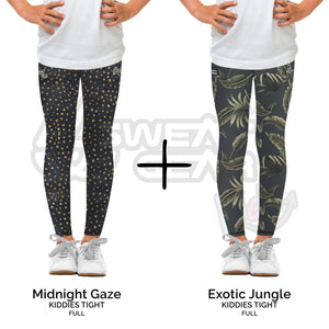 Bundle of 2: Midnight Gaze + Exotic Jungle (Sweatgear.Kids)
