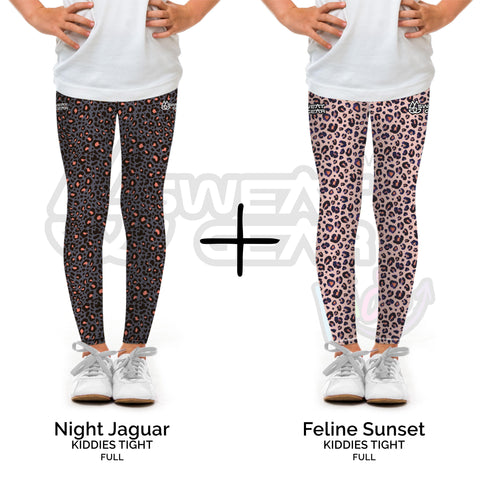 Bundle of 2: Night Jaguar + Feline Sunset (Sweatgear.Kids)