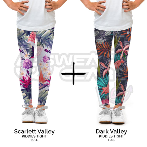 Bundle of 2: Scarlett Valley + Dark Valley (Sweatgear.Kids)