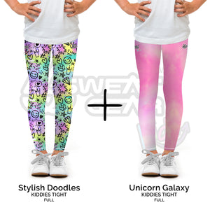 Bundle of 2: Stylish Doodles + Unicorn Galaxy (Sweatgear.Kids)