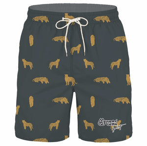 Tiger Boardshorts (Sweatgear Designed by Minnette)