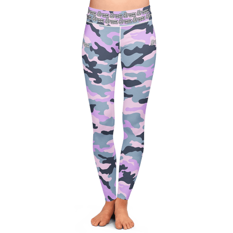 Violet Camo Tight (Sweatgear)