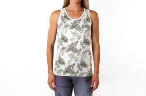 Wild Botanical Vest (Sweatgear Designed by Minnette)