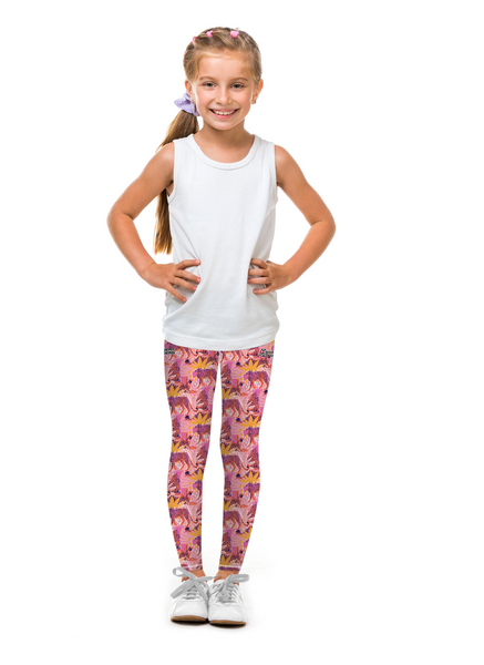 Wild Pink Tight (Sweatgear.Kids)
