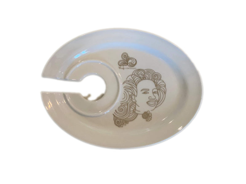 Preorder Queen Mother Wine and Dine Plate