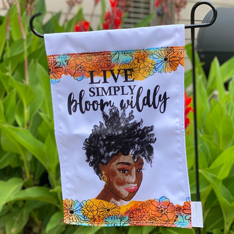 Bloom Wildly Garden Flag