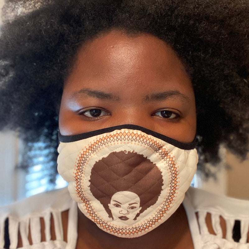 Afro Chic Face Mask