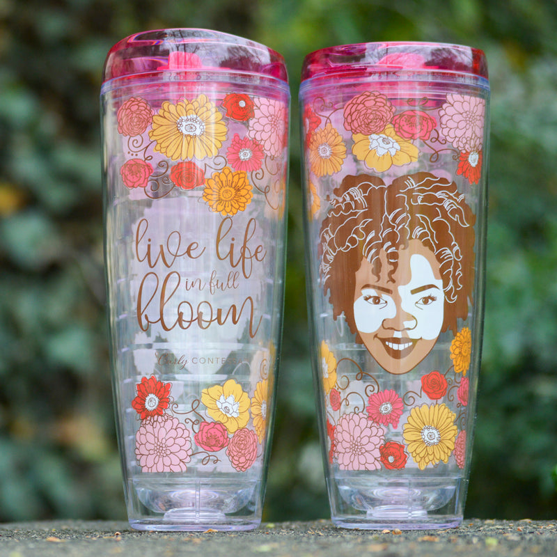 Full Bloom Tritan Tumbler