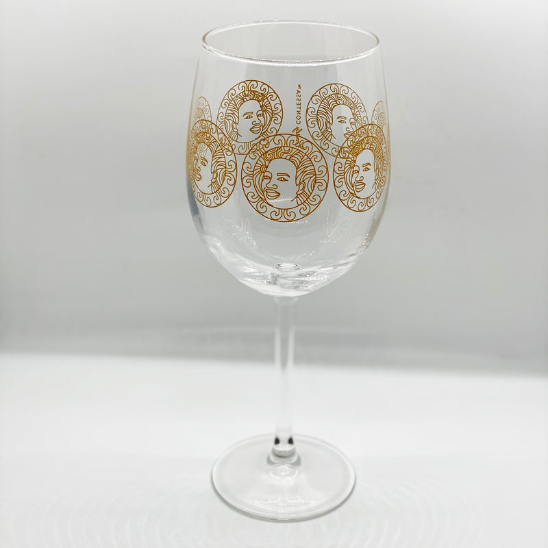 Preorder Queen Mother Wine Glass
