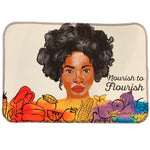 Nourish to Flourish Dish Mat