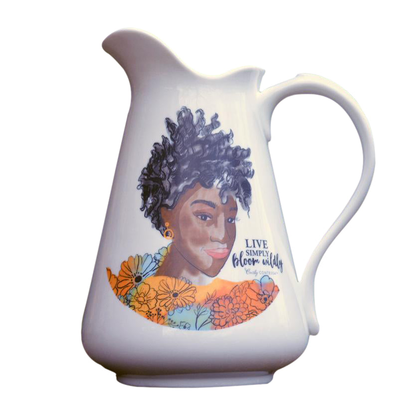 Bloom Wildly Pitcher