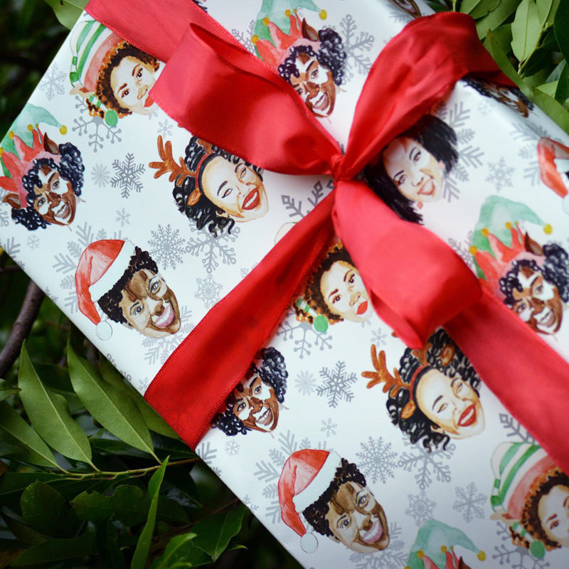 2017 Naturalistas Signature Wrapping Paper
