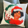 Tinsel Toe Throw Pillow