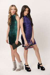 Alexandria and Elena wearing our best selling Chloe Dresses! Only a few sizes left!