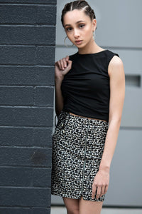 Kaia Cheetah Print Skirt
