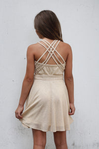 Gold Ariana Dress