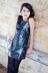 Reese Camouflage Sequin Dress