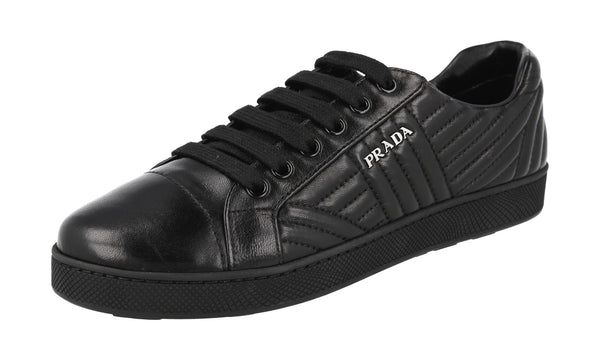 Prada Women's 1E344I 77F F0002 Leather Sneaker