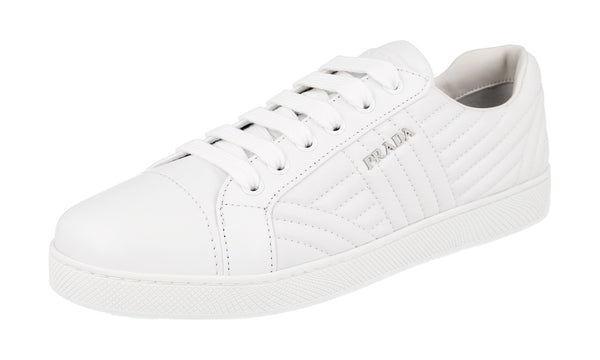 Prada Women's 1E344I 77F F0009 Leather Sneaker