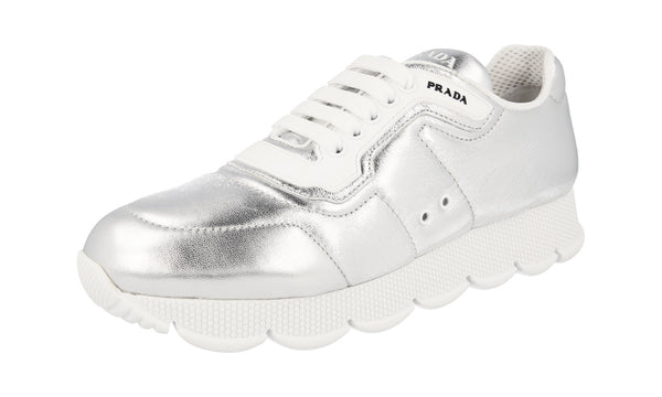 Prada Women's 1E946L 038 F0118 Leather Sneaker