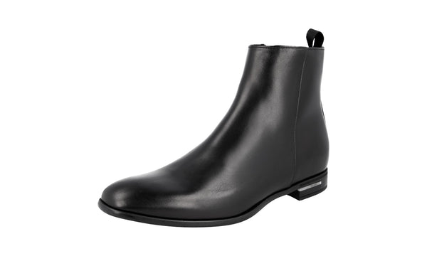 Prada Men's 2TC055 070 F0002 Leather Half-Boot