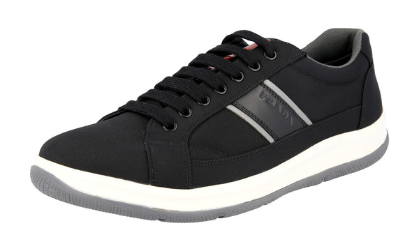 Prada Men's 4E2987 0Q6 F0967 Fabric Sneaker