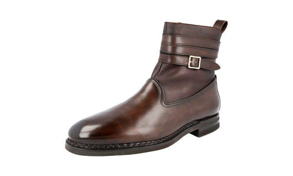 Santoni Men's santoni 15647 welt-sewn Leather Half-Boot