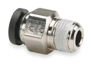 "1/2"" OD x 1/2 NPT Straight Male Connector"