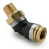 "1/2"" Tube to 1/2"" NPT DOT Composite Male Elbow 45*"