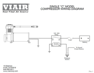 Viair 400C Compressor - Silver