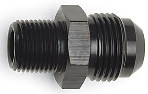 "Russell 3/8 Flare to 1/4"" Pipe , Straight - Black"