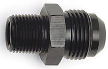"Russell 3/8 Flare to 1/2"" Pipe, Straight - Black"