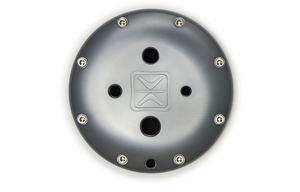 Accuair ENDO-T 5 Gallon Grey Anodized Finish