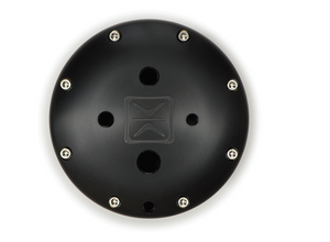 Accuair ENDO-T 5 Gallon Black Anodized Finish