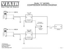 Viair 380C Compressor - Silver - Dual Pack