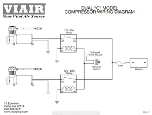 Viair 450C Compressor - Silver - Dual Pack