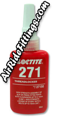 Loctite 271 Threadlocker, High Strength, 50ml