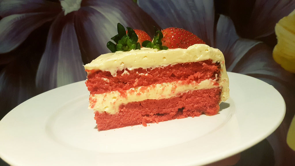 Red Velvet White Chocolate Cake