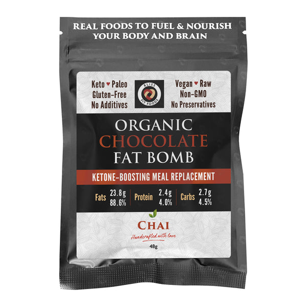 Bliss Fit Food-Keto Superfood Fat Bomb –Chai(48g)