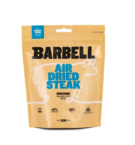Barbell Foods- Beef Biltong The Benchmark 200g