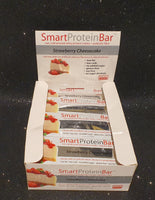 Smart Diet Solutions- (Bulk Buy 12 bars) Smart Protein Bar- Strawberry Cheesecake