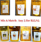 Gourmet Spice Kits Mix & Match- Any three for $23.85