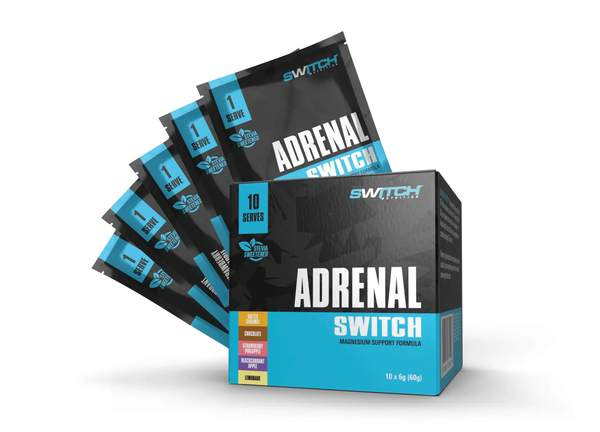 Switch Nutrition- Adrenal Switch SAMPLE SACHETS | 2 OF EACH FLAVOUR (10 serves in total)